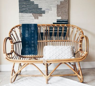 franco albini style rattan settee rattanvintageandswoon