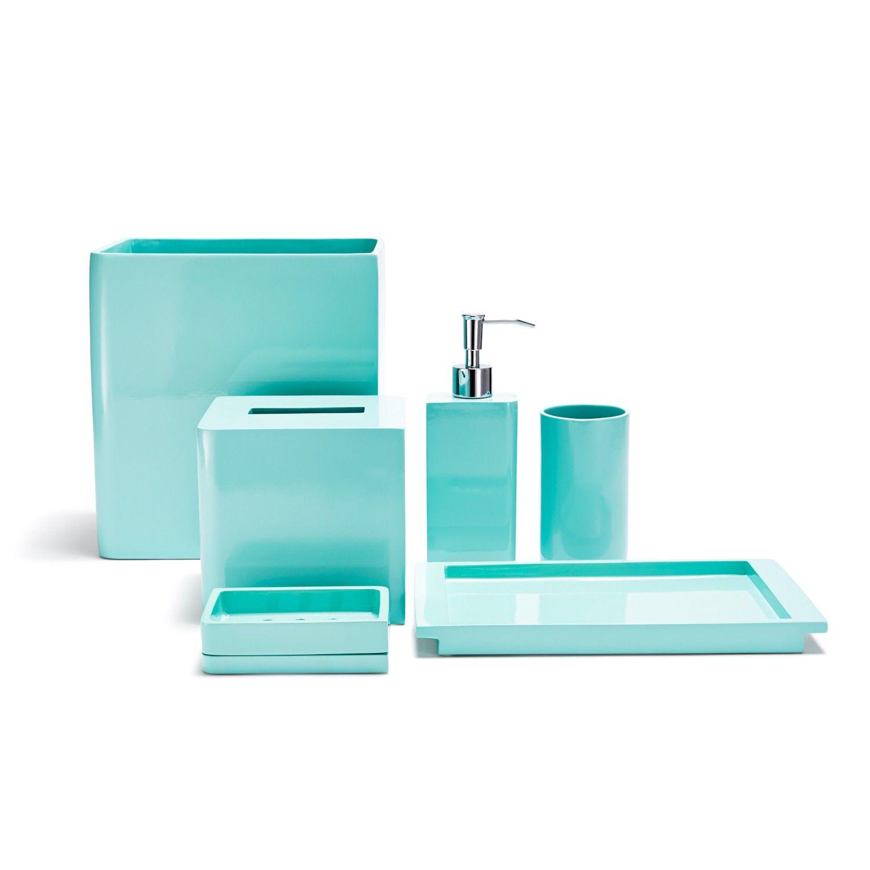 bathroom accessories in blue   ideas   pinterest   turquoise