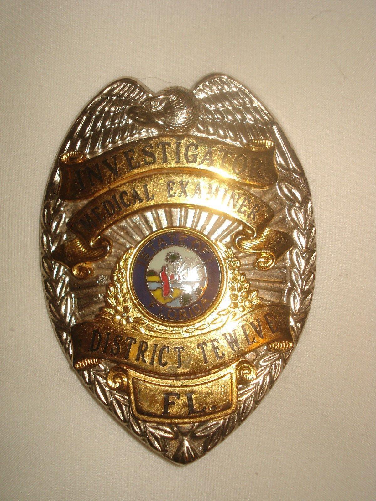 Investigator, Medical Examiner District Twelve, State of