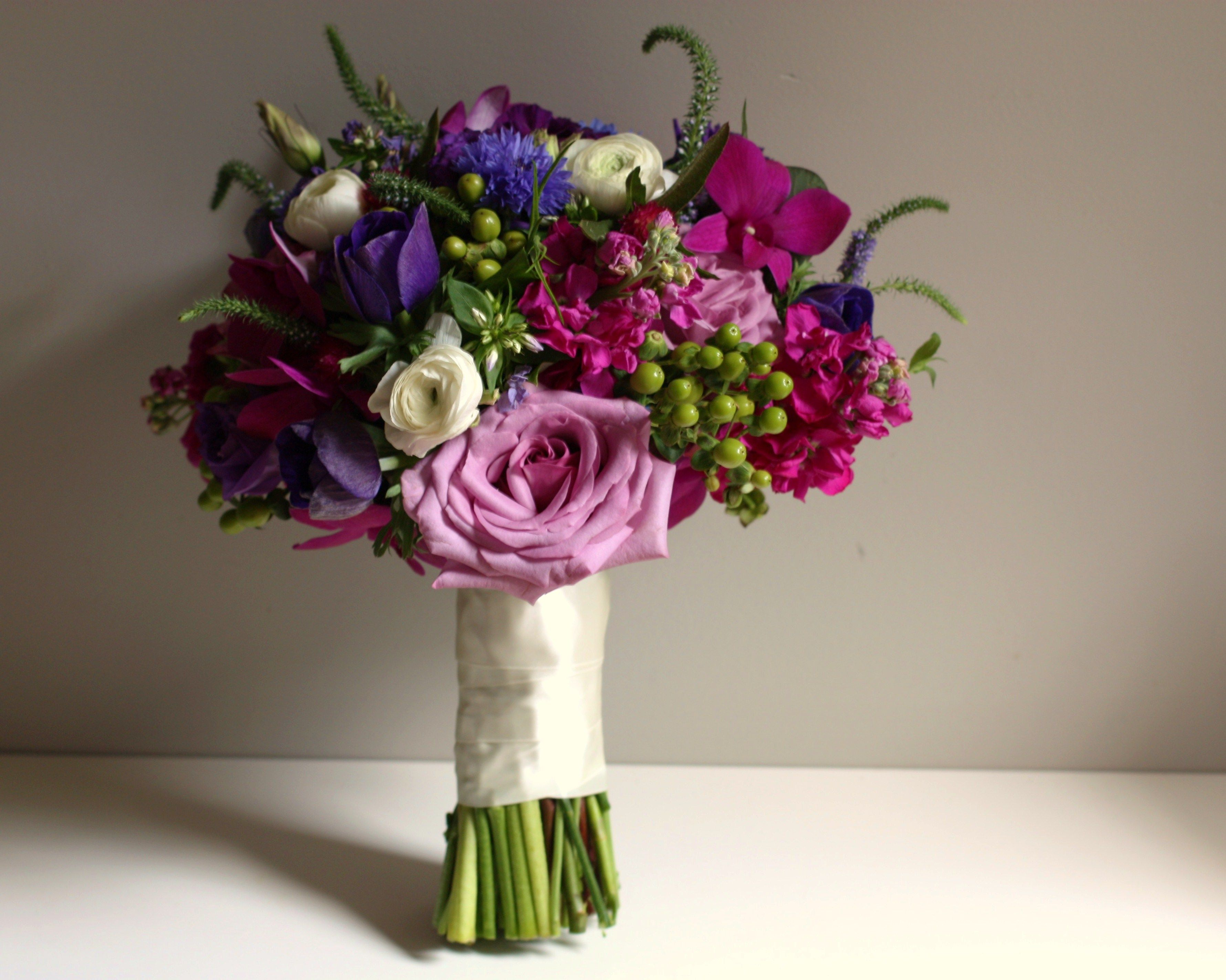 Jewel Toned Purple, Fuchsia