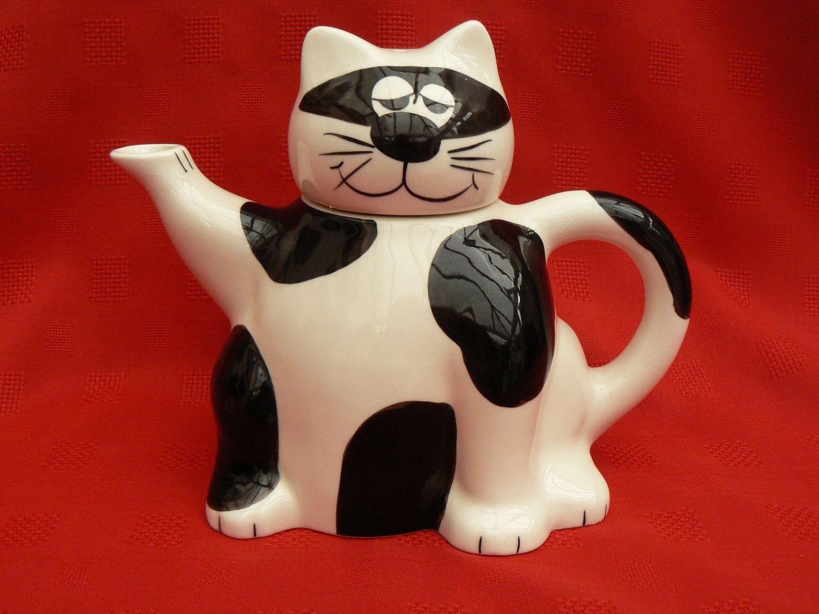 Whittard Cat Teapot Novelty Teapot Teapot