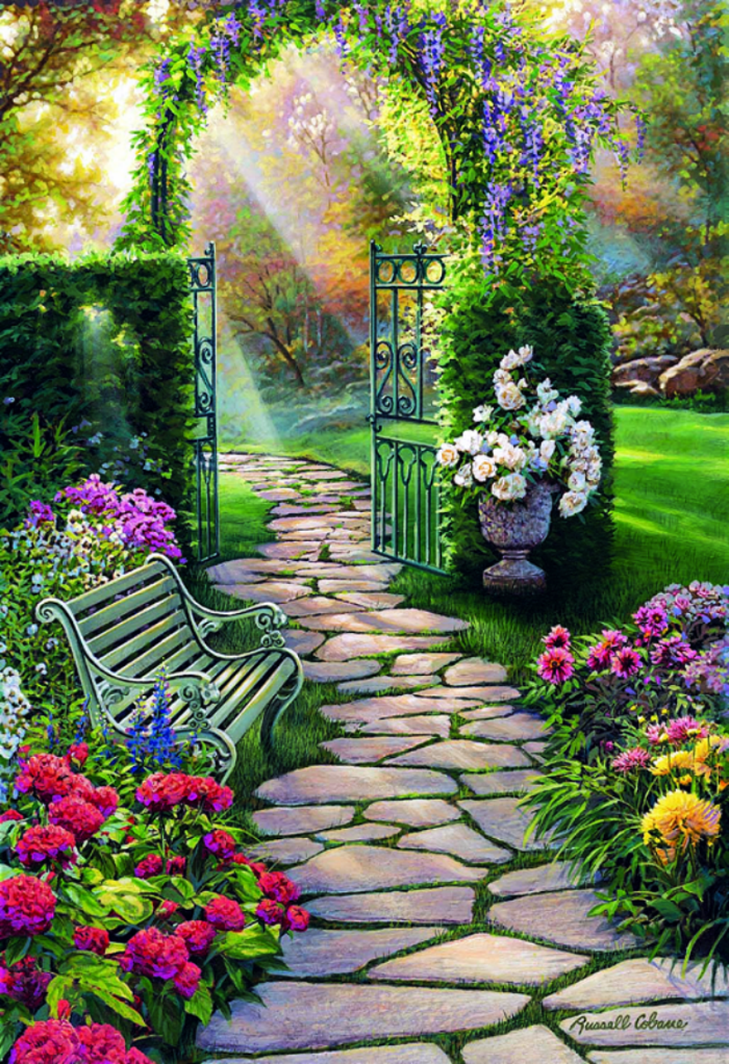 """""""Garden Path"""" If you're searching for innovative gardening"""