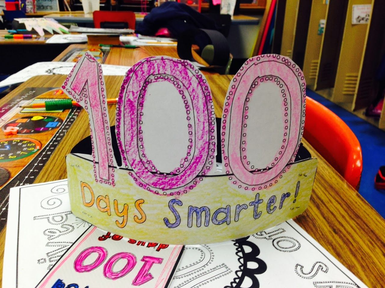 Freeebie Happy 100th Days Of School Activities And Hat Activity Pack