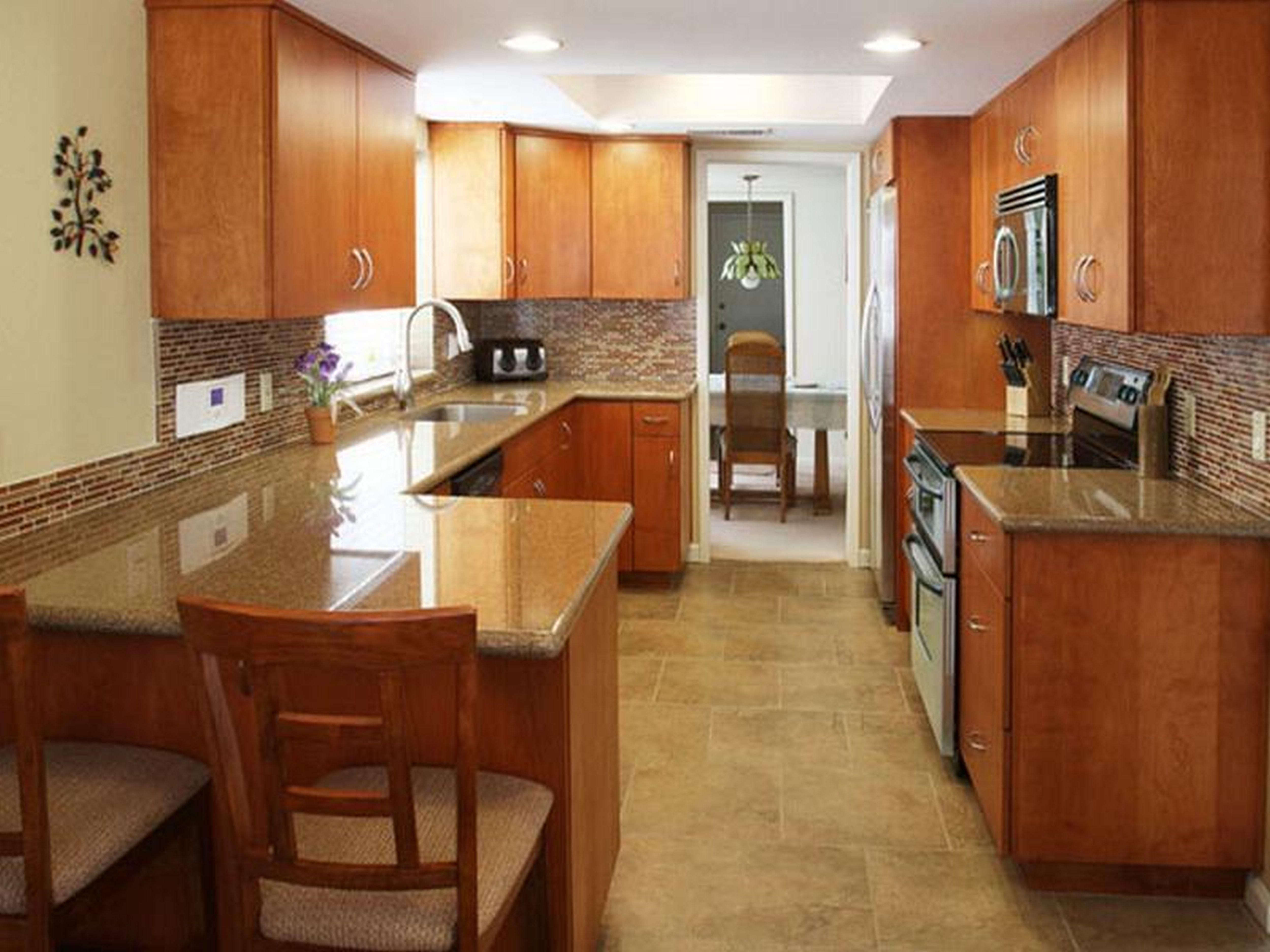 Craftsman Style Galley Kitchen - Google Search