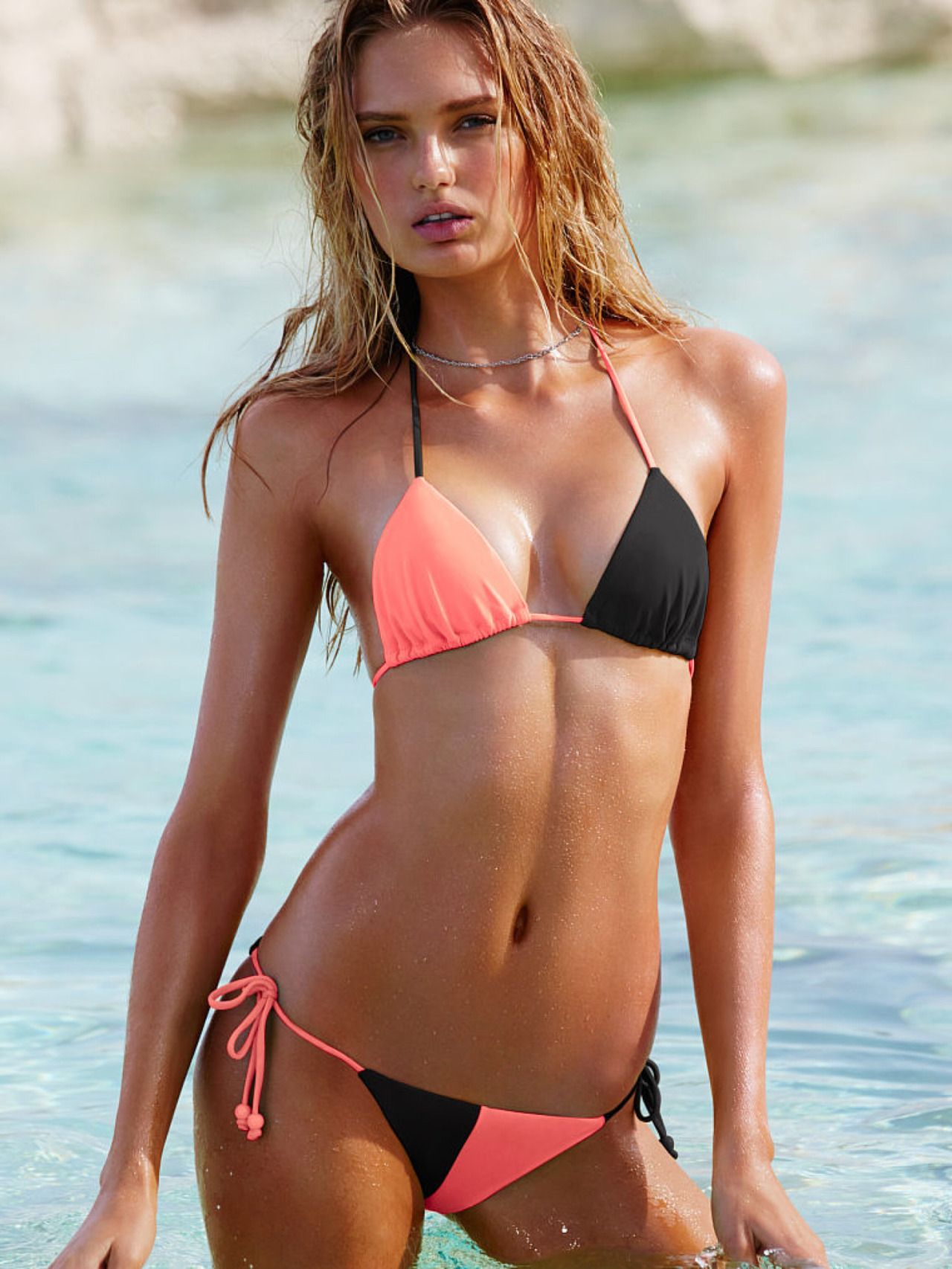 Romee Strijd For VS Swim 09 Romee Strijd Pinterest
