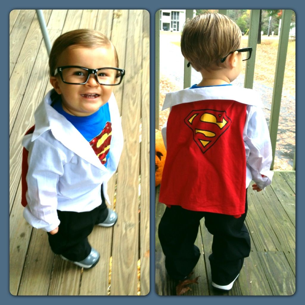 Clark Kent/Superman Halloween Costume! My pictures