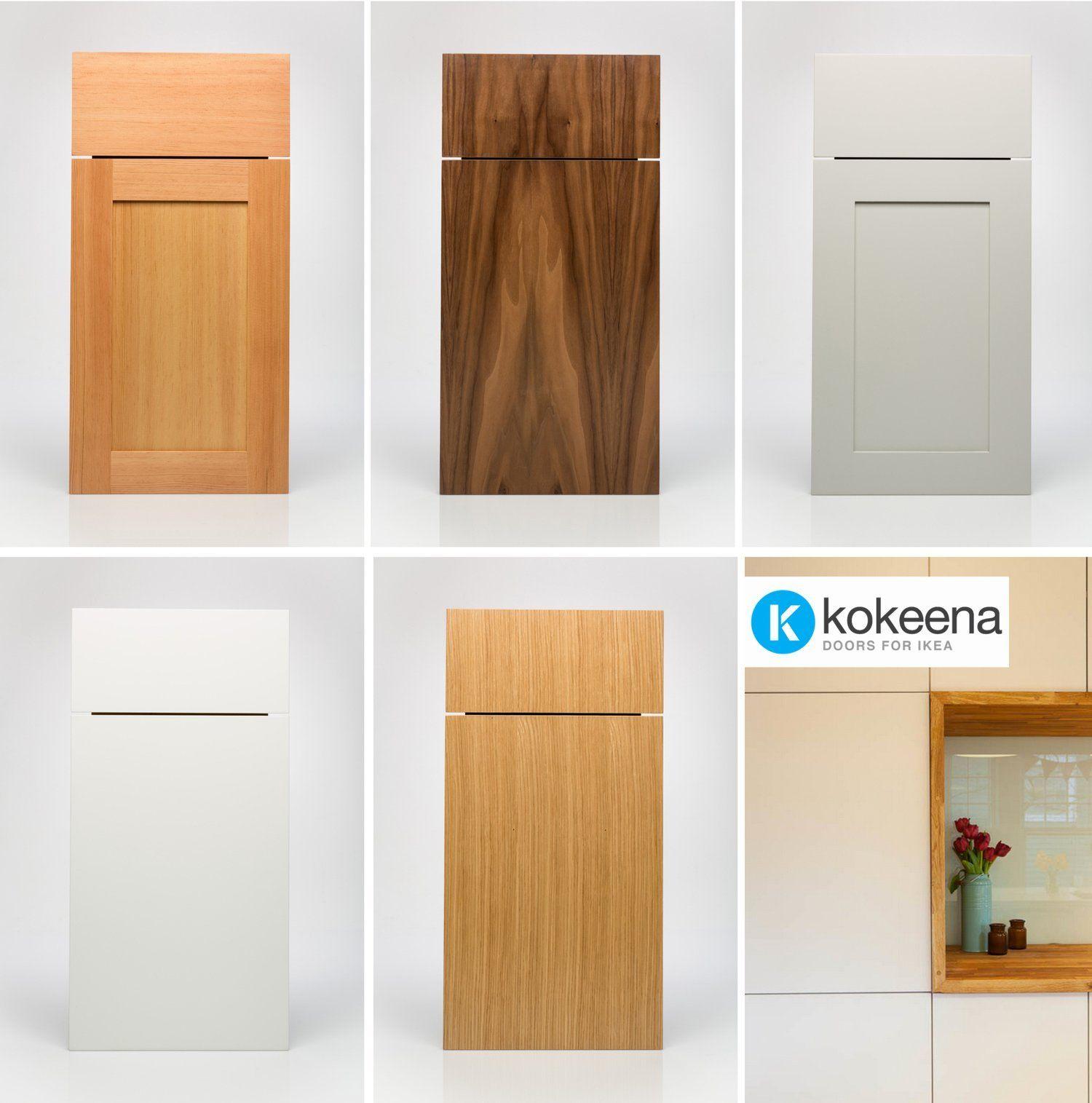 Kokeena Real Wood ReadyMade Doors for IKEA