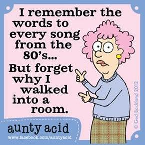 Image result for forgetting aunty acid