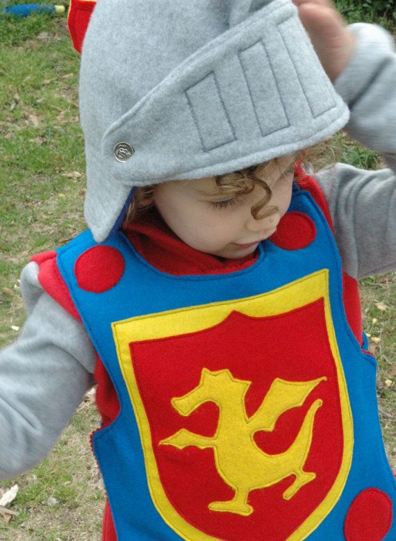 Fleece Knight Helmet with Movable Face Guard - Halloween ...