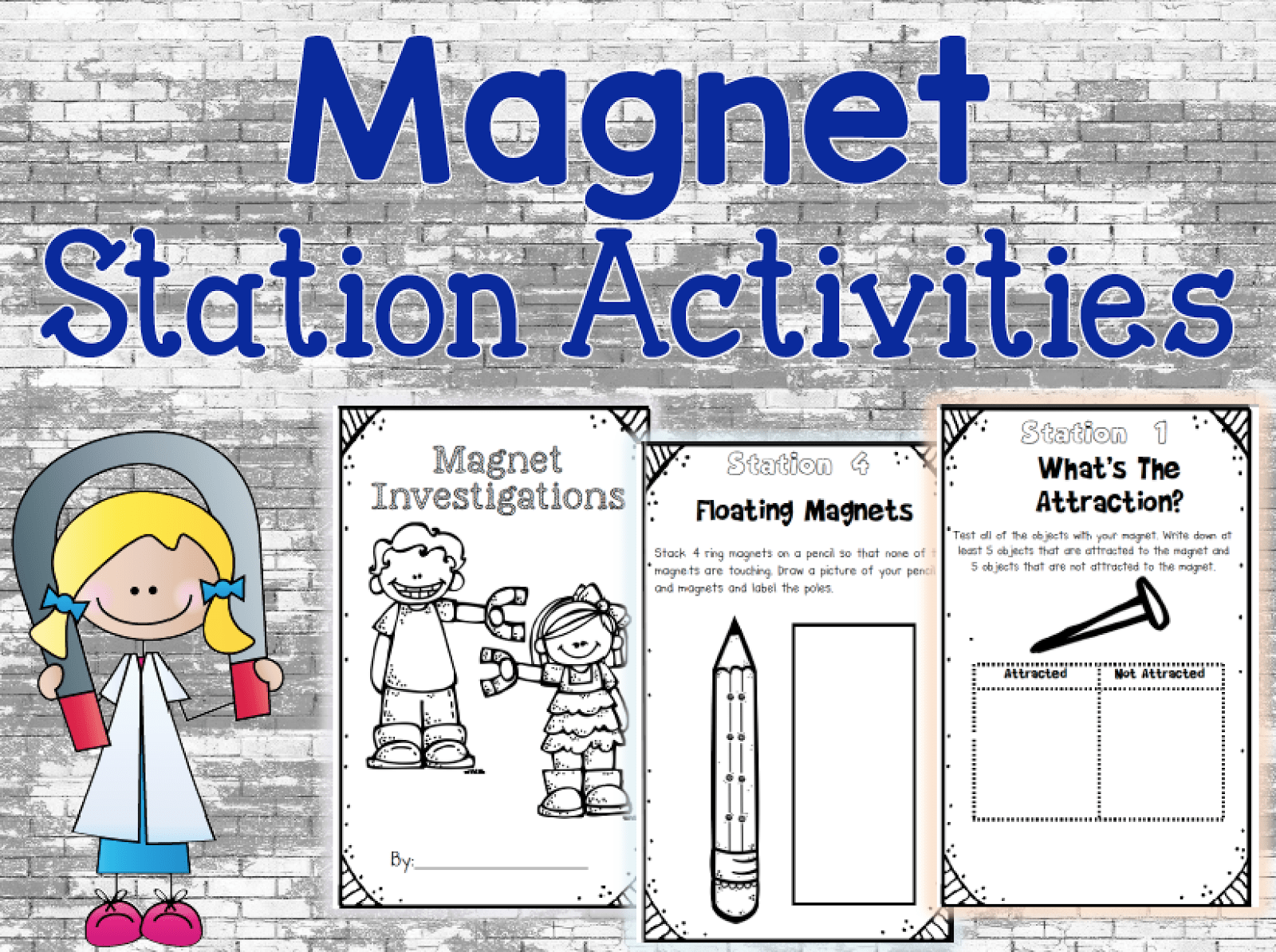 Magnet Activities Fun And Free Allow Students To