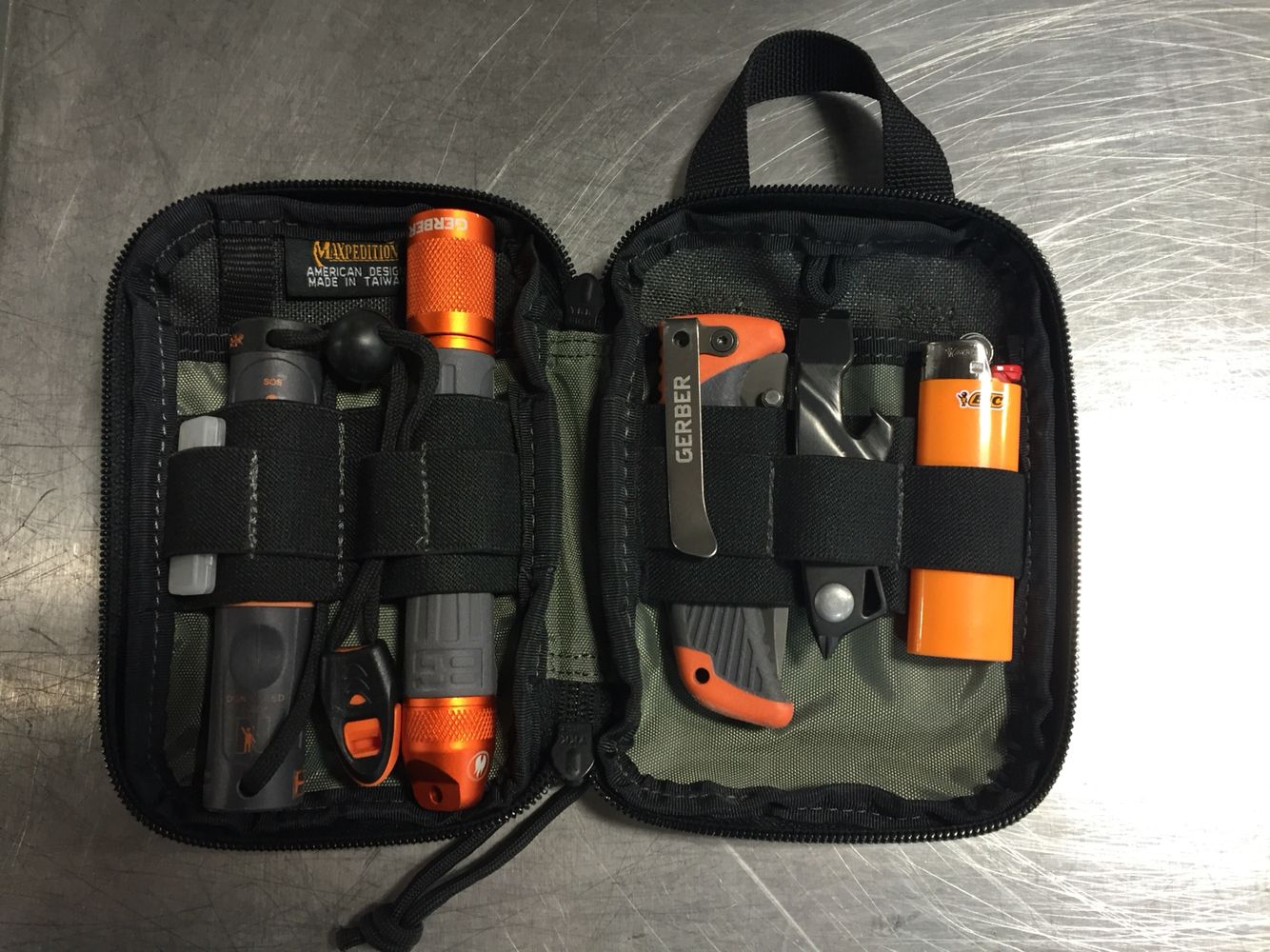 Compact Camping Survival Kit