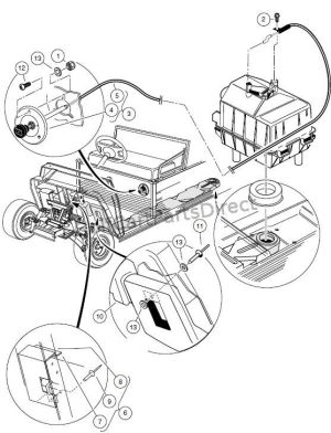 Click on image to download 19981999 Club Car Carryall I