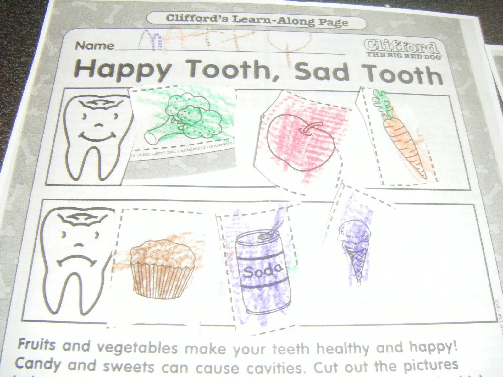 Dental Health Crafts