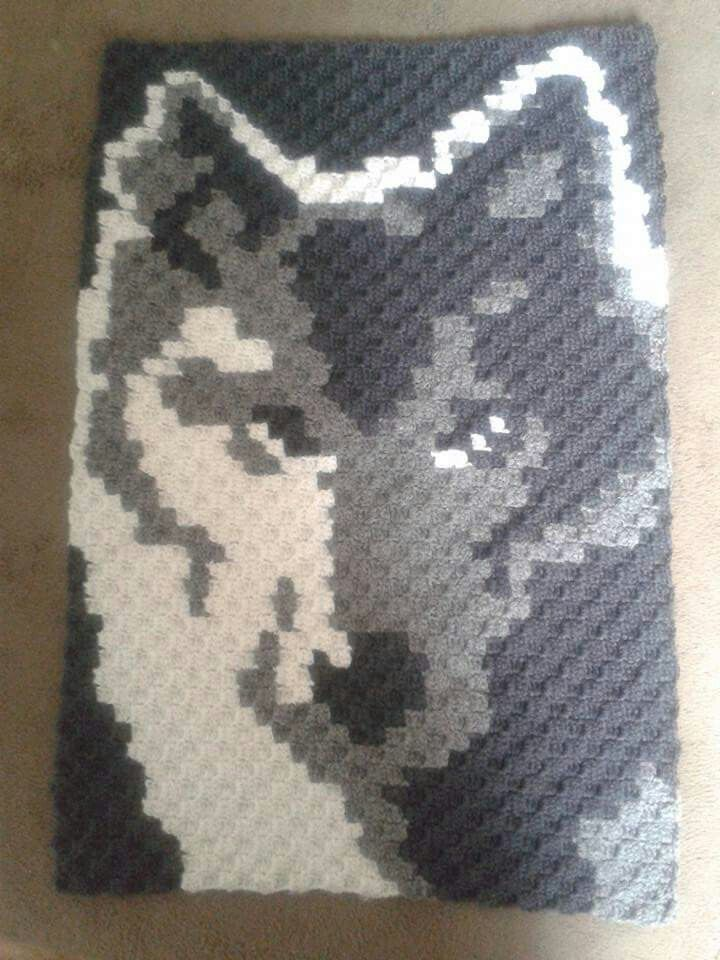 Wolf would love to make one like this for mum Yarn is