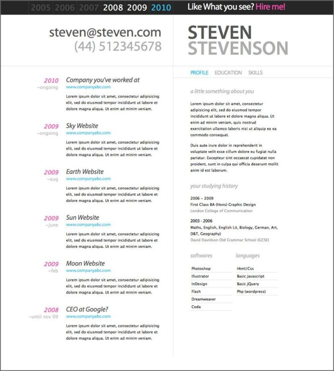 free microsoft word doc professional job resume and cv templates - Resume Templates Free Microsoft Word