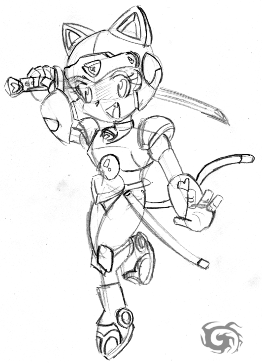 Samurai Pizza Cats Polly by on