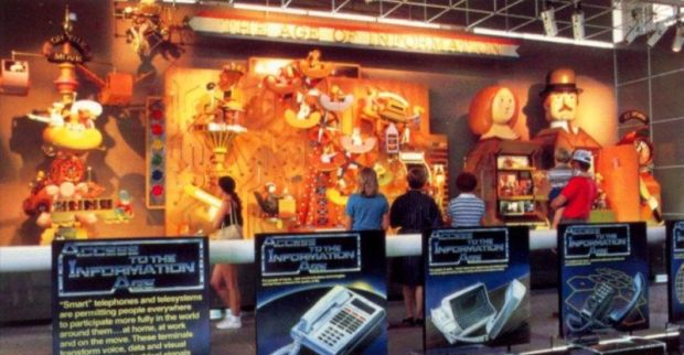 Age of Information, Communicore Pavilion