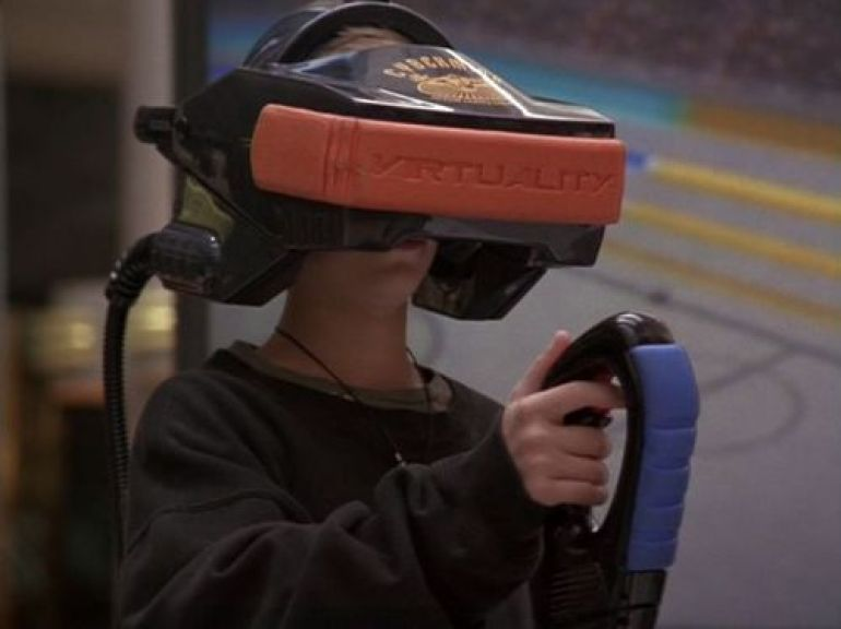 Image result for 90s movies with virtual reality