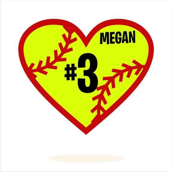 Download Personalized, Softball, T-Shirt Design, dxf, svg, pdf ...