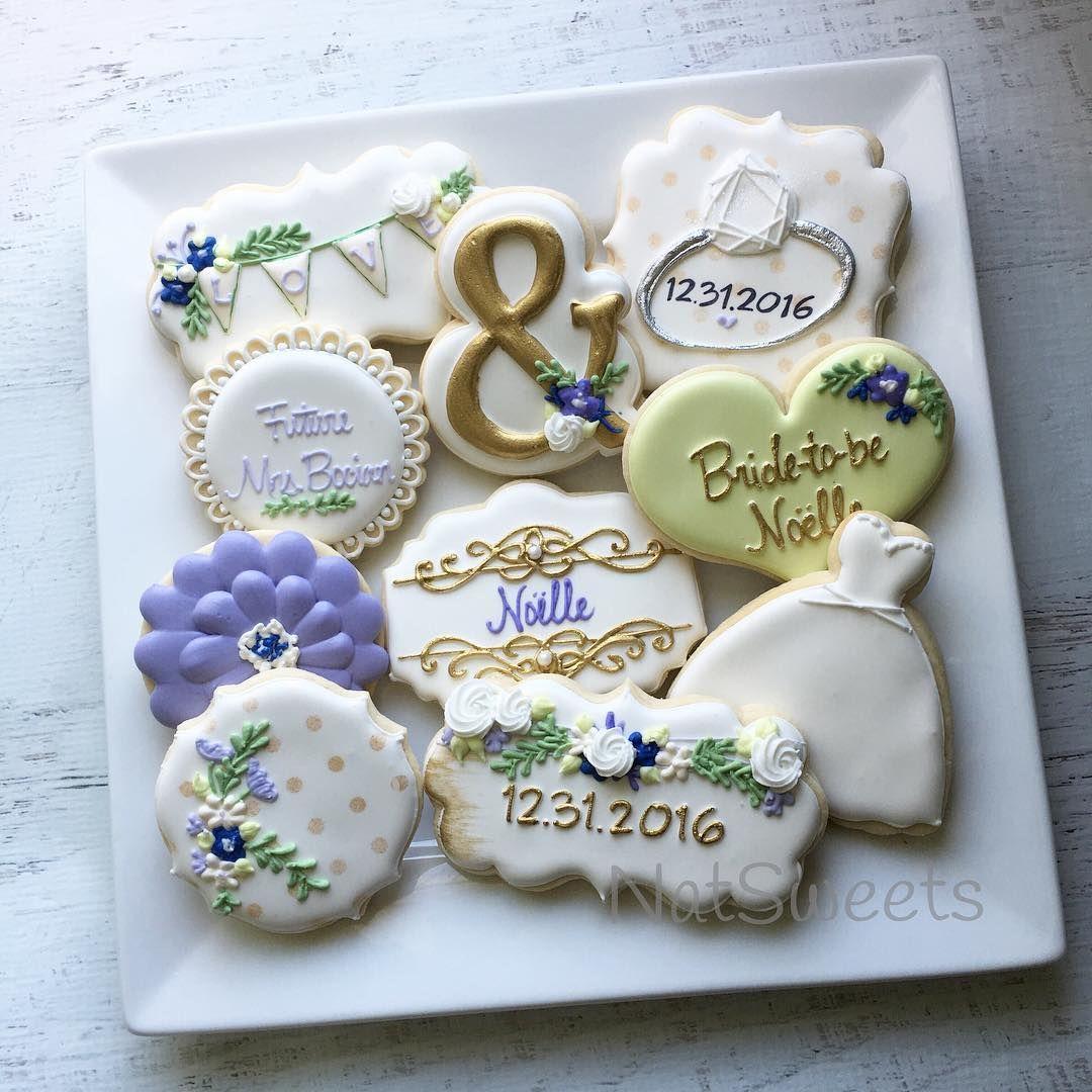 Bridal shower cookies bridalshowercookies Decorated