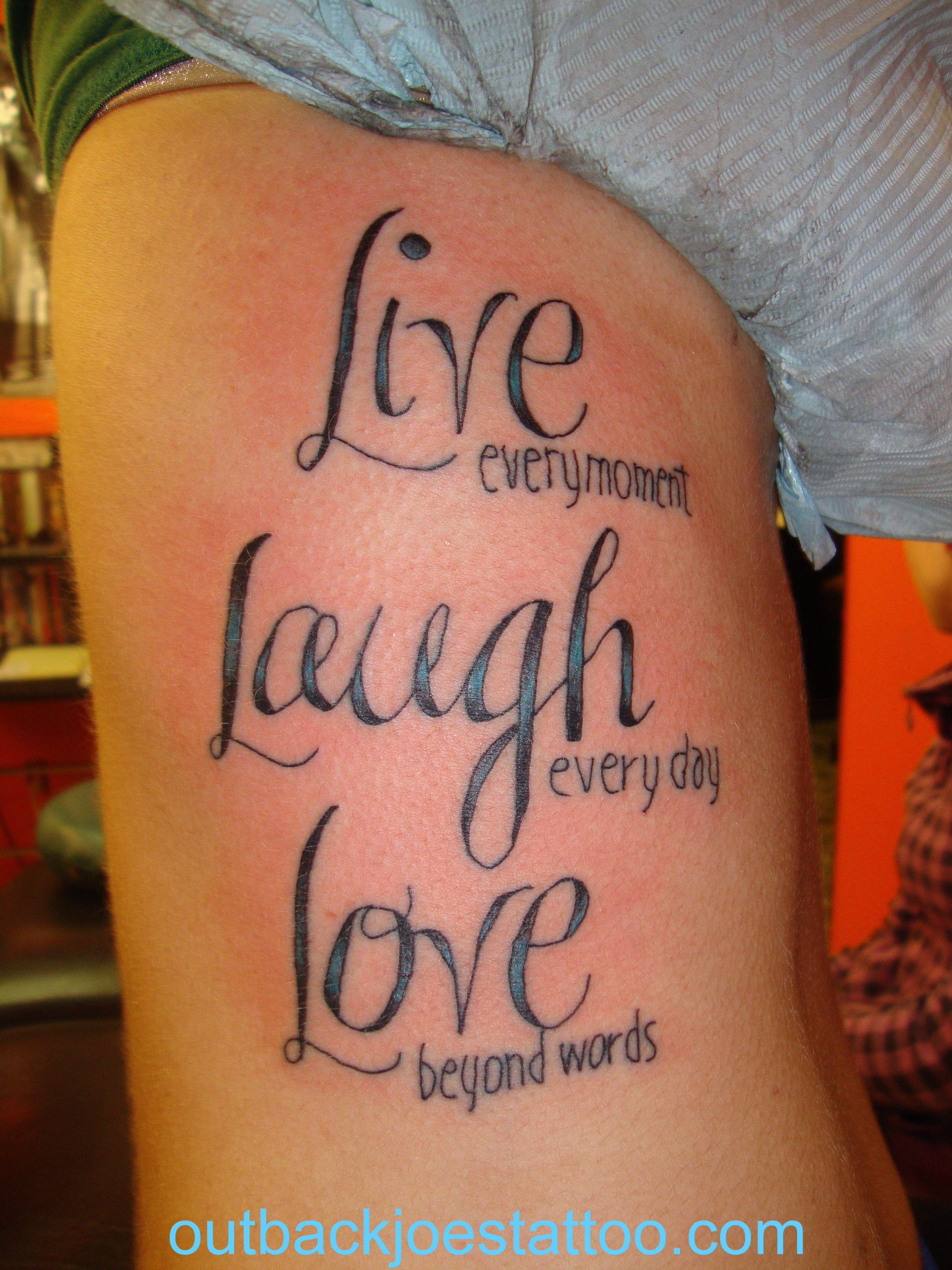 girl harley tattoo pics Pin Free Download Live Laugh