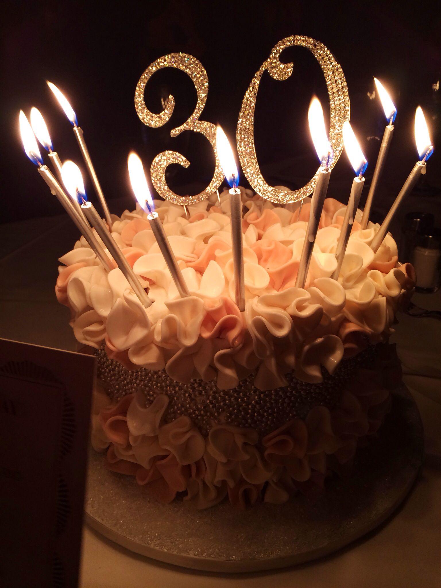 My 30th birthday cake 30th bday! Pinterest 30th