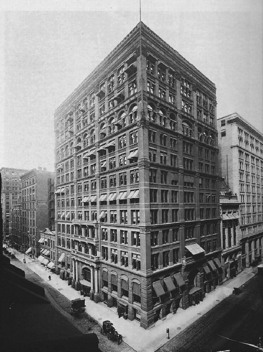 Architecture of William Le Baron Jenney NYC Pinterest