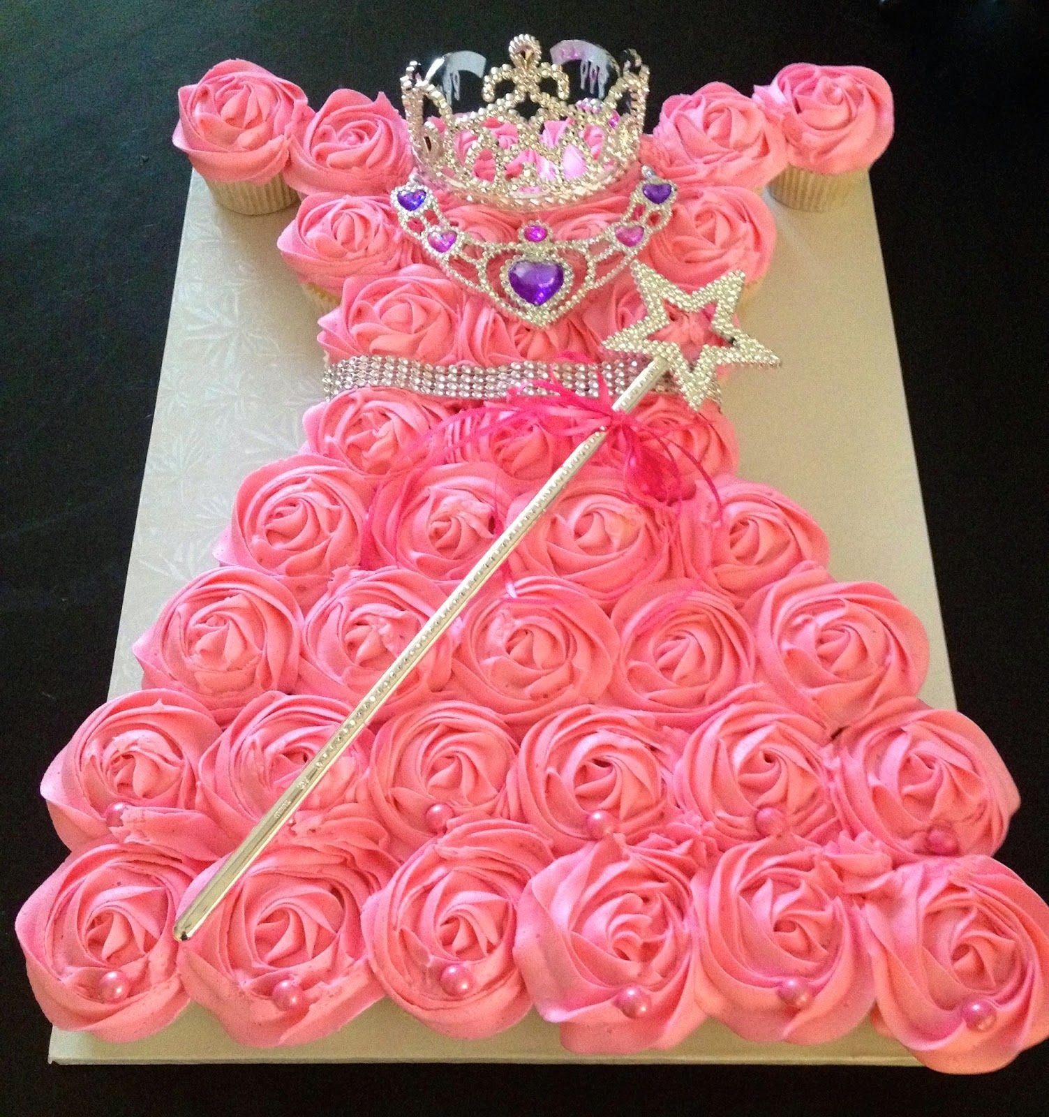 Princess Cupcake Dress Tutorial Can Use For All Disney