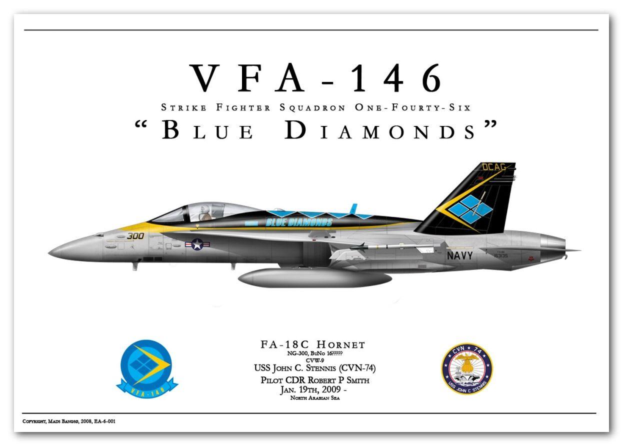 F 18c Vfa 146 Blue Diamonds