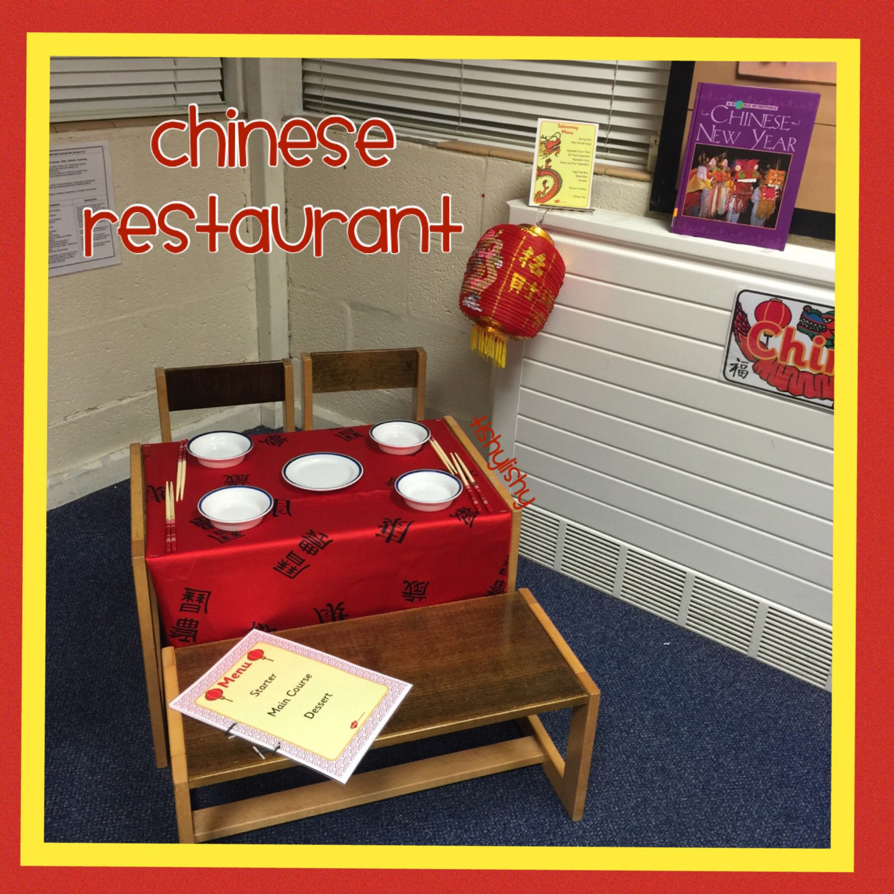 Chinese Restaurant Role Play