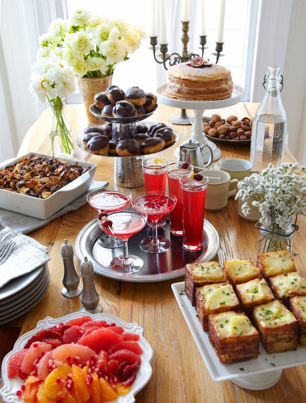 Holiday Brunch Party via Anthology Magazine! Catering