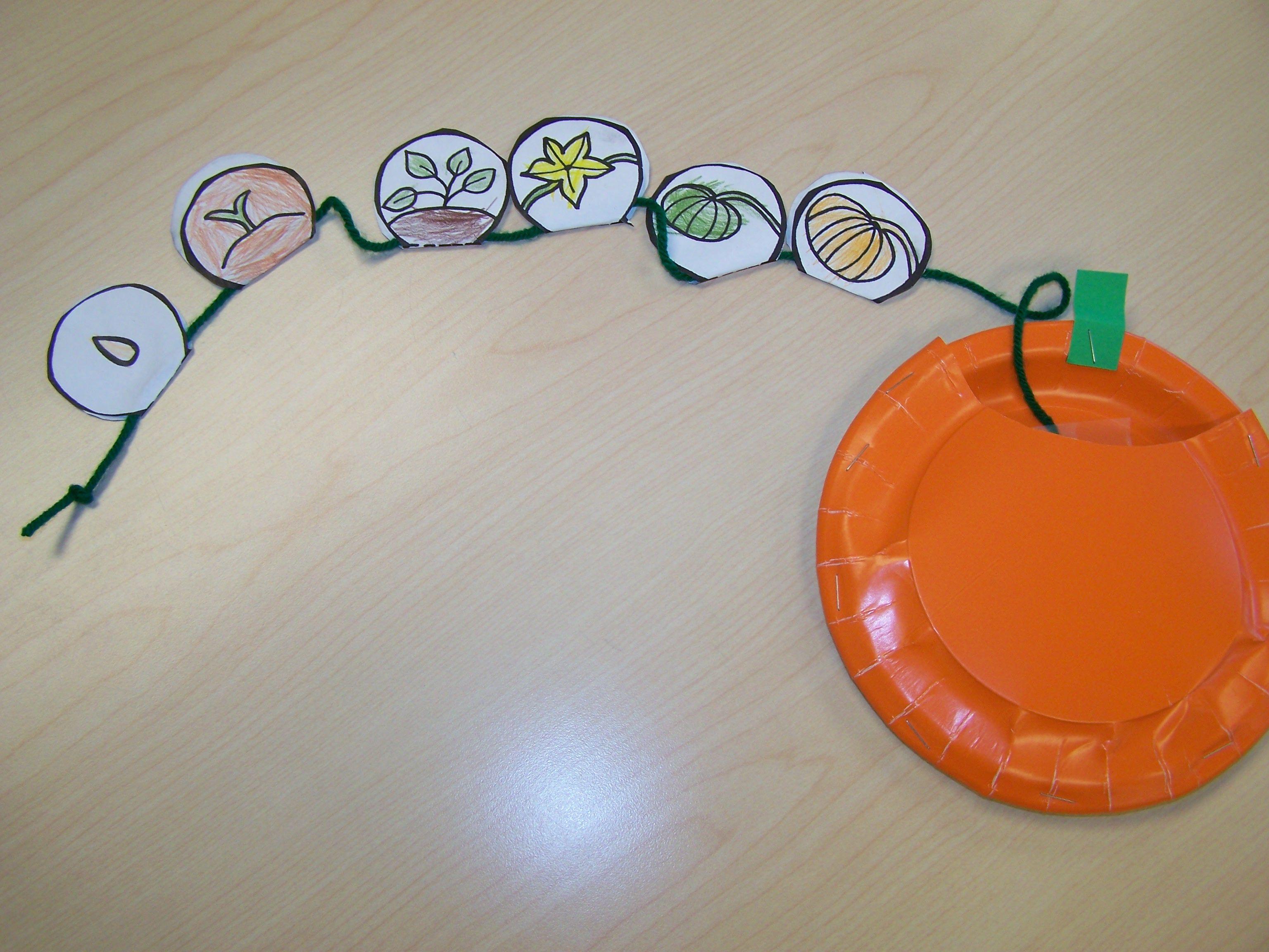 pumpkin life cycle Kindergarten/ Pumpkins Pinterest
