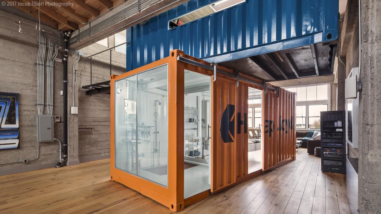 Best Kitchen Gallery: The Multimillion Dollar Listing Features Three Bedrooms Three Baths of Shipping Container Bath on rachelxblog.com