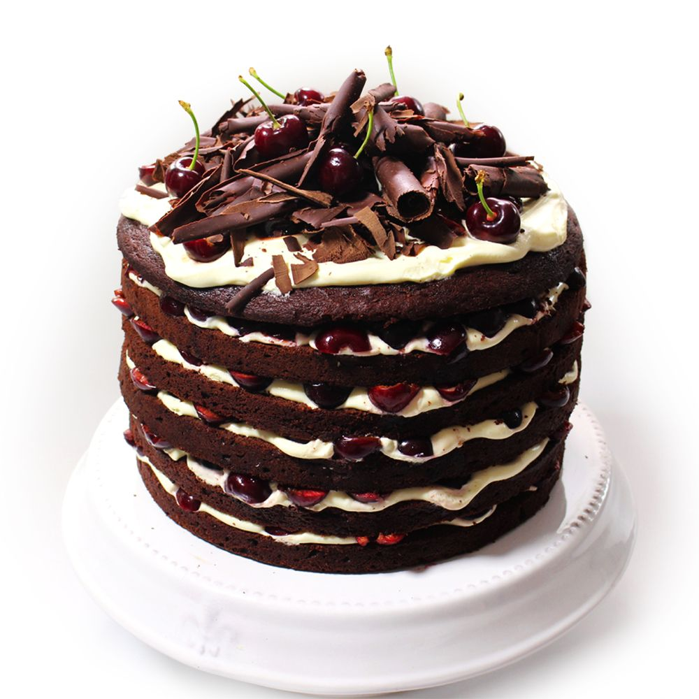 Christmas dessert is sorted with our Black Forest Cake!