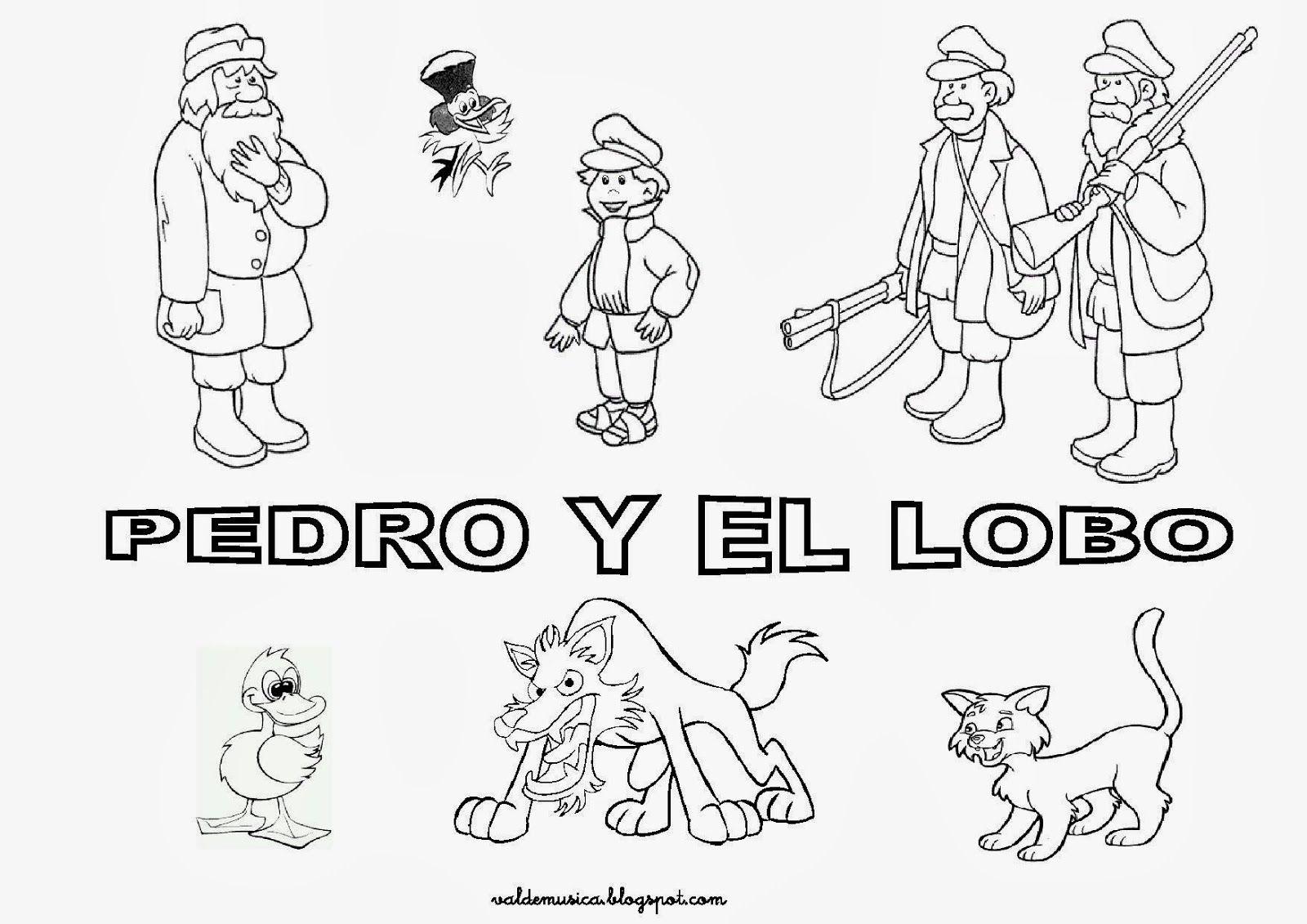 Pedro Y El Lobo Es Un Cuento Musical Para Orquesta