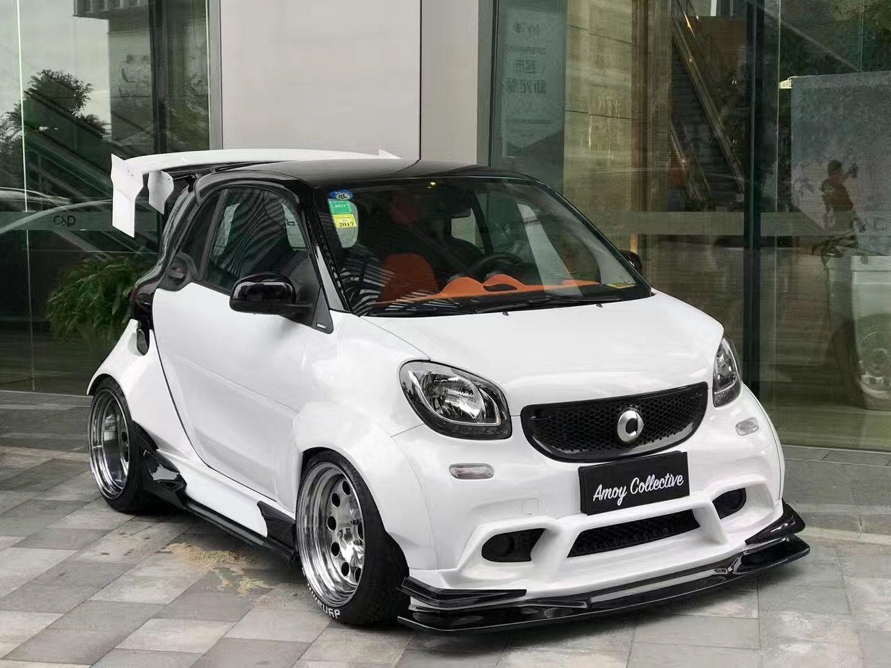 Smart 453 wide body Dynamics Performance Engineering