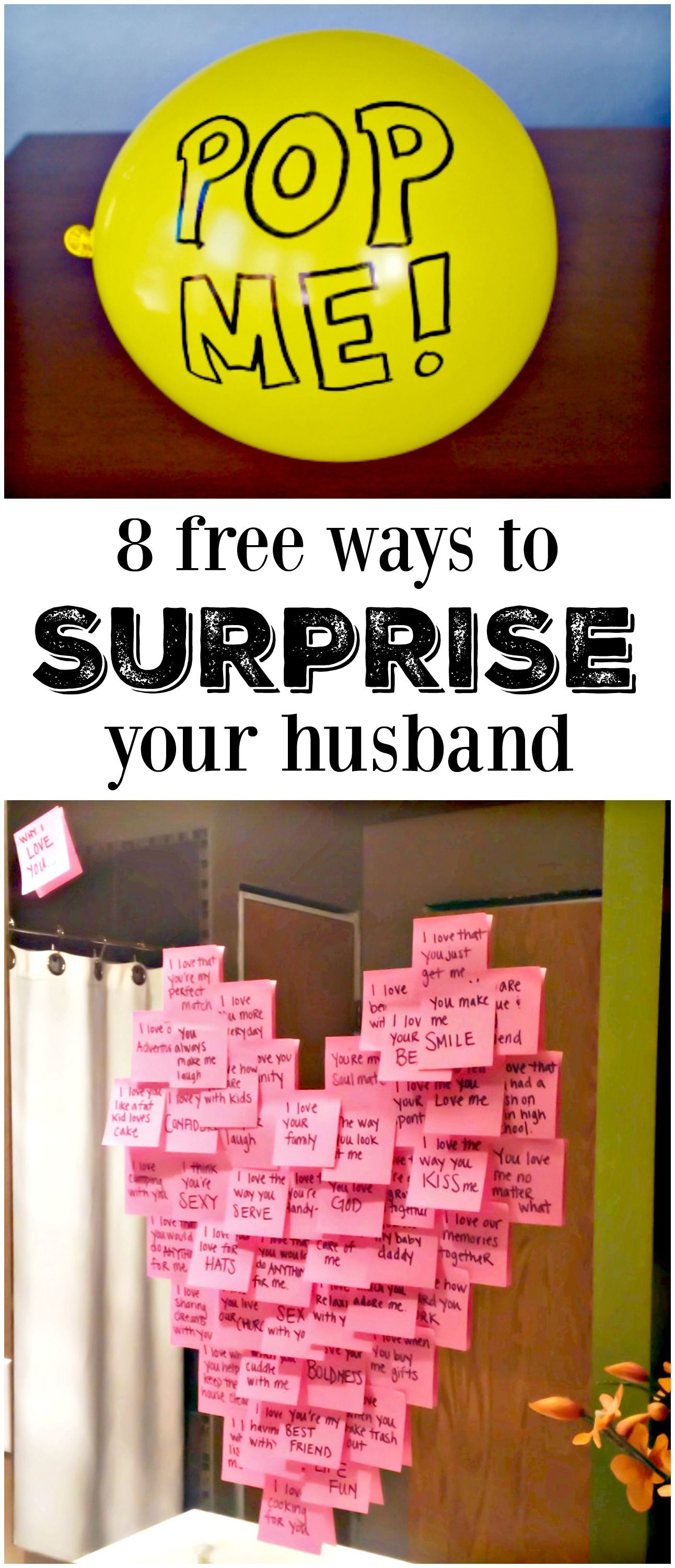 8 Meaningful Ways to Make His Day Free, Gift and