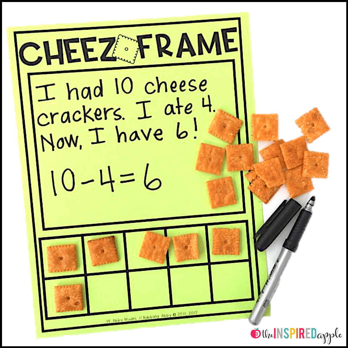 Free Ten Frame Activity