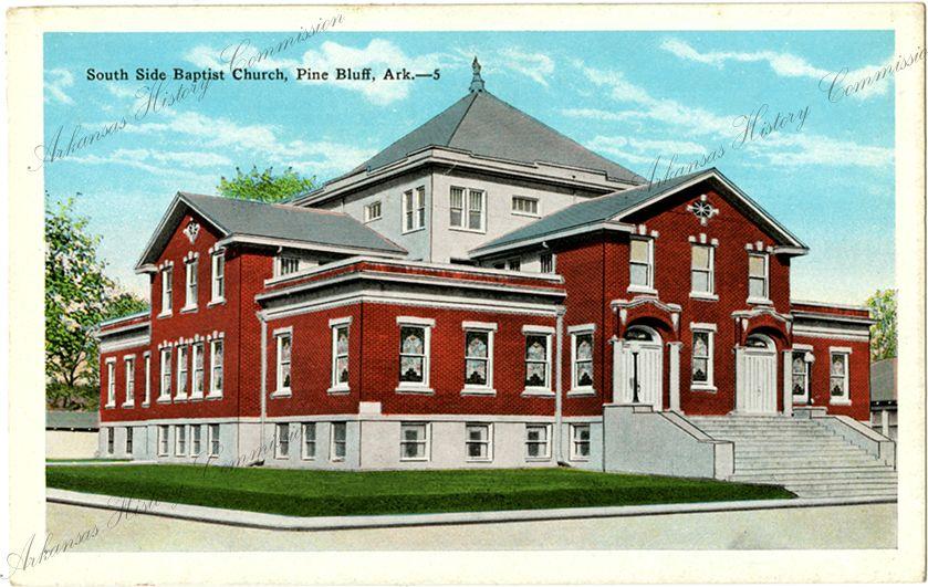 South Side Baptist Church, Pine Bluff, Arkansas. Arkansas