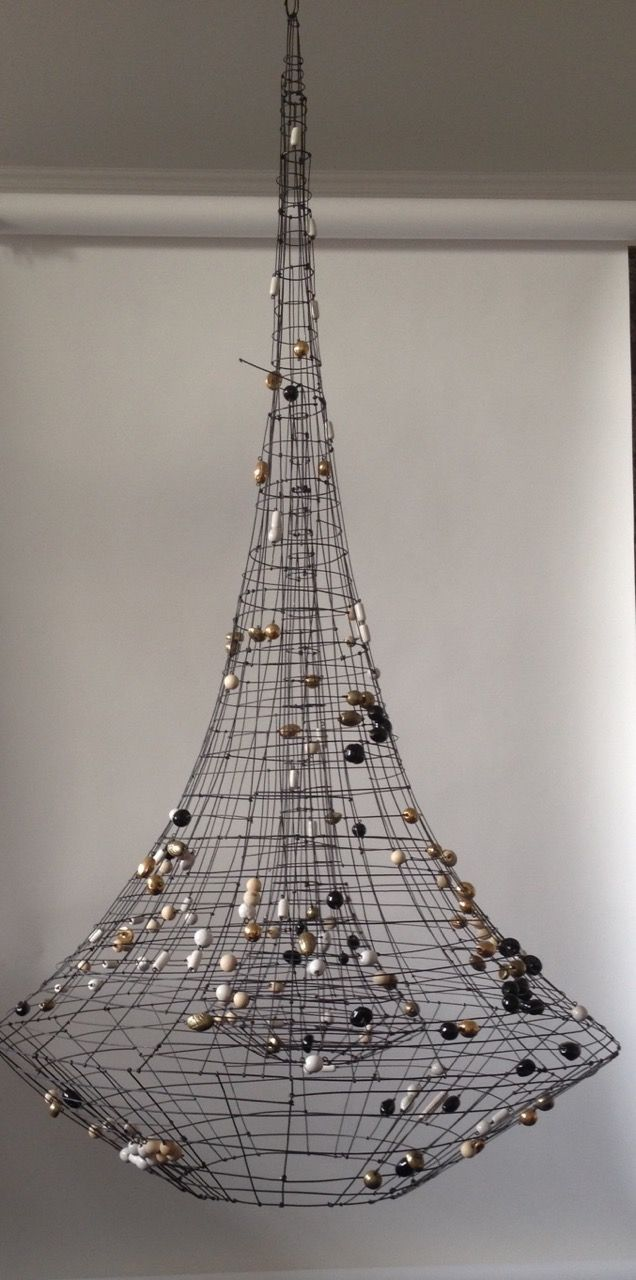 Make A Statement With Marie Christophe S Eiffel Towering Single Spotlight Chandelier For Jean