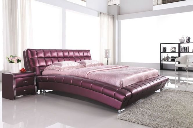 Rakuten Luxury Natural Leather Use And Bed Mattress Sold Separately Roman Deal