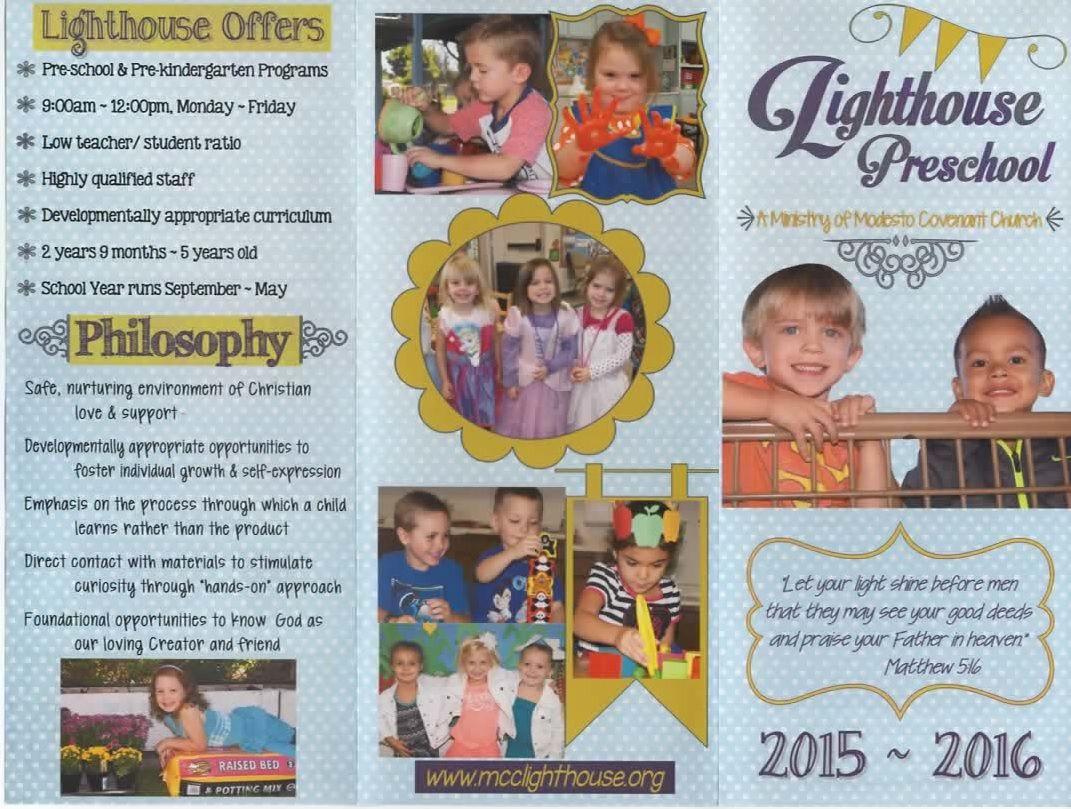 Lighthouse Preschool Brochure