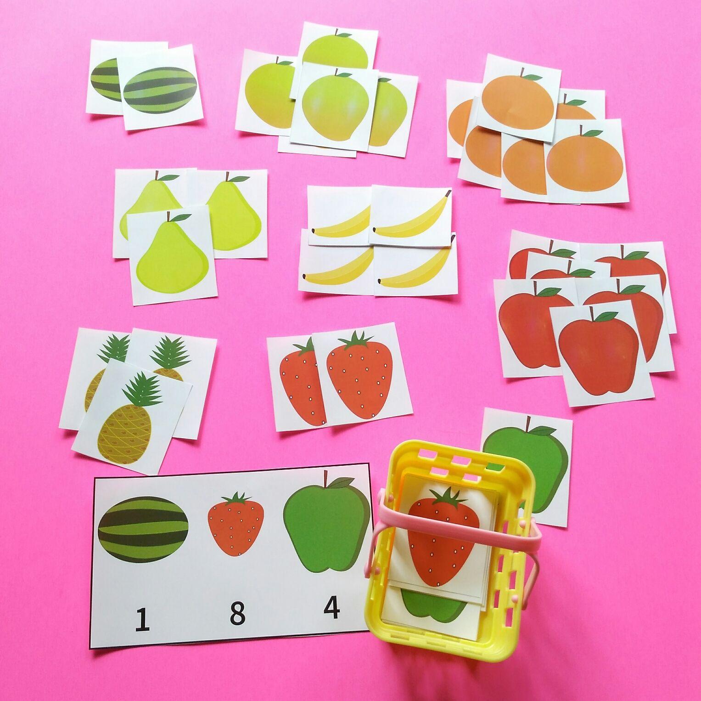 Shopping Fruits Keywords Playingtots Playing Tots Playing