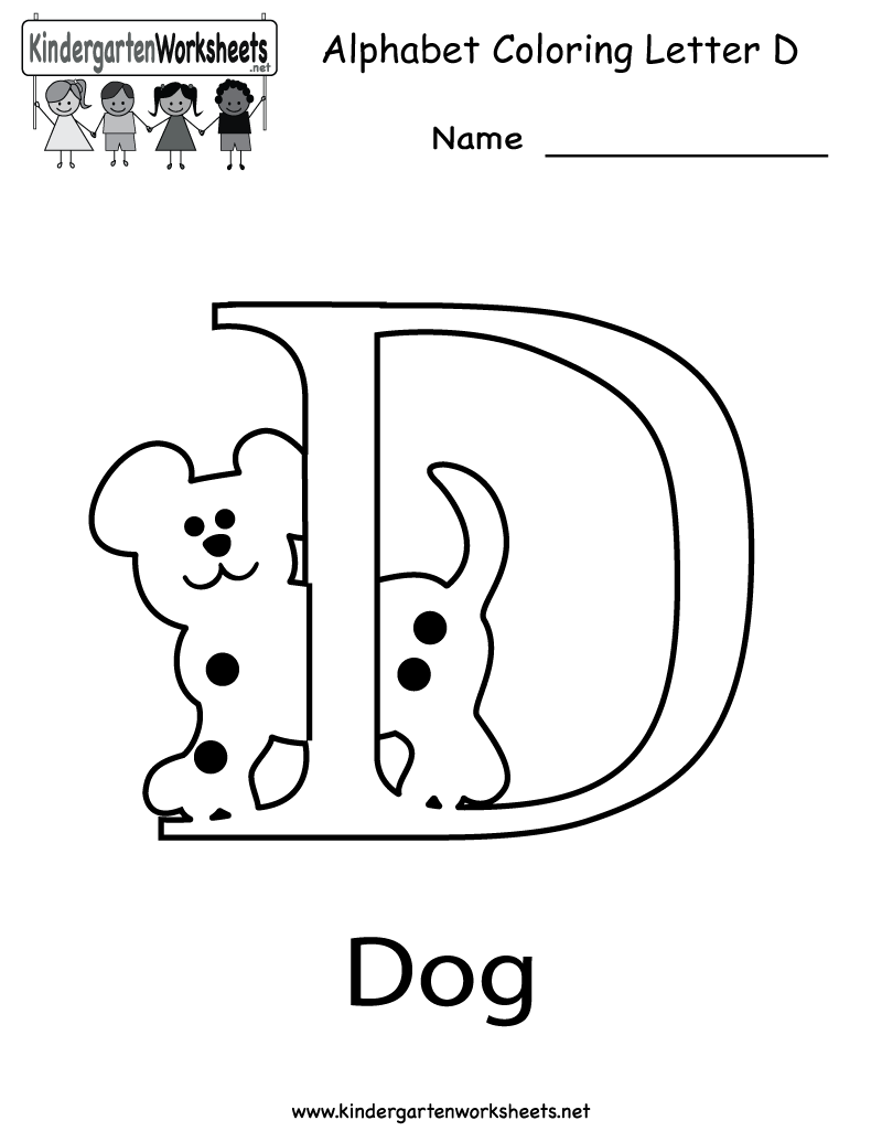 Free Worksheet Letter D Preschool Worksheets letter d coloring pages for toddlers and ducks on 1000 images about pinterest dogs and