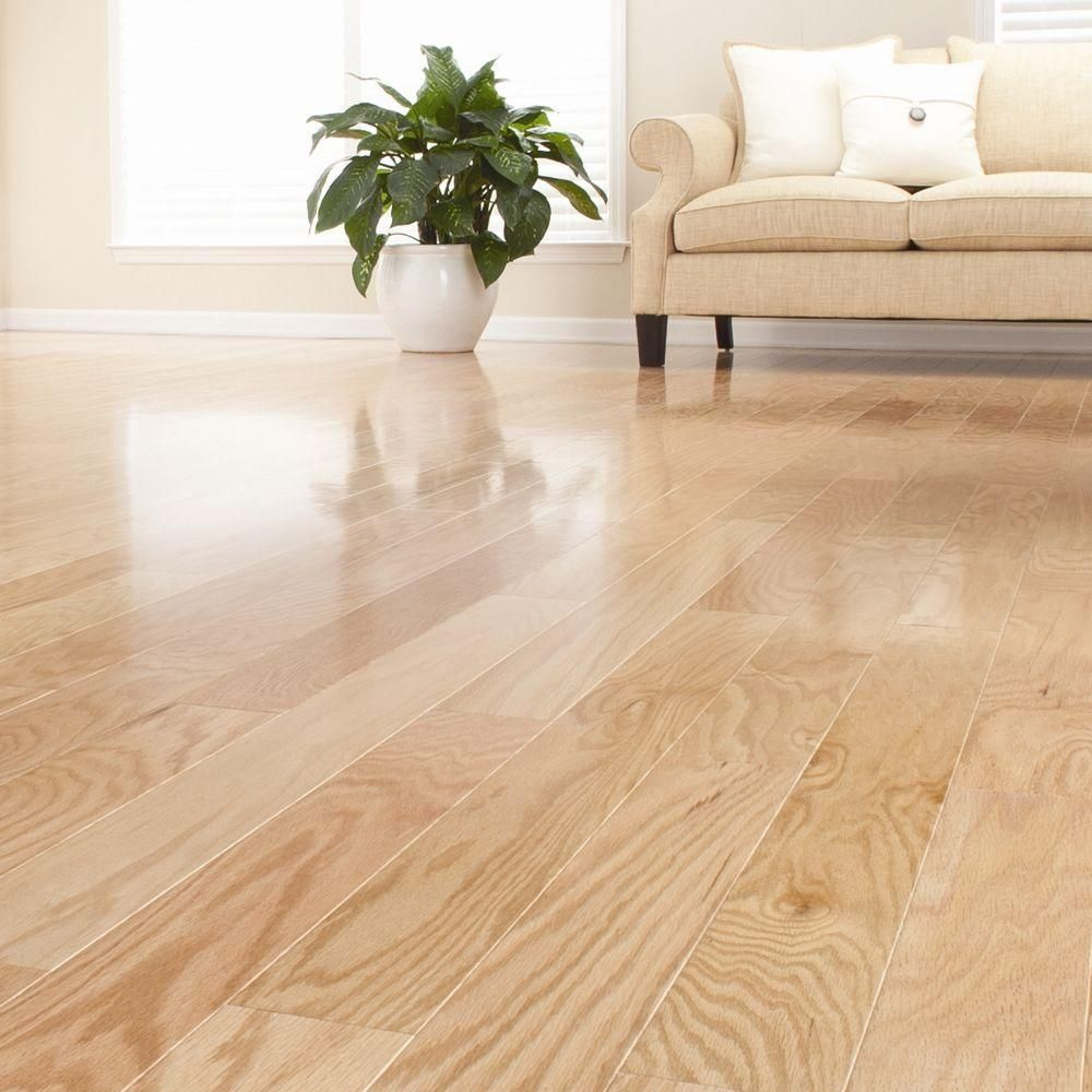 Millstead Red Oak Natural 1/2 in. Thick x 5 in. Wide x