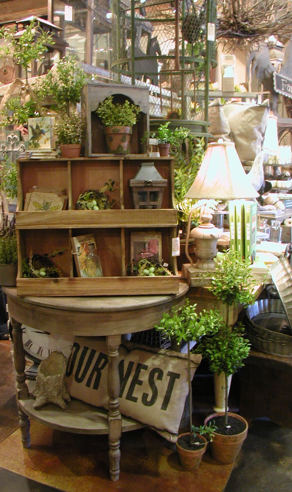 """""""The Farmers Wife"""" This little shop is filled with rustic"""