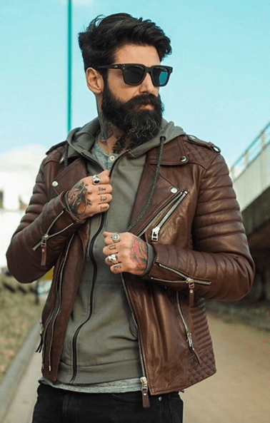 Brown Leather Jacket Mens Fashion Brown Leather Jacket