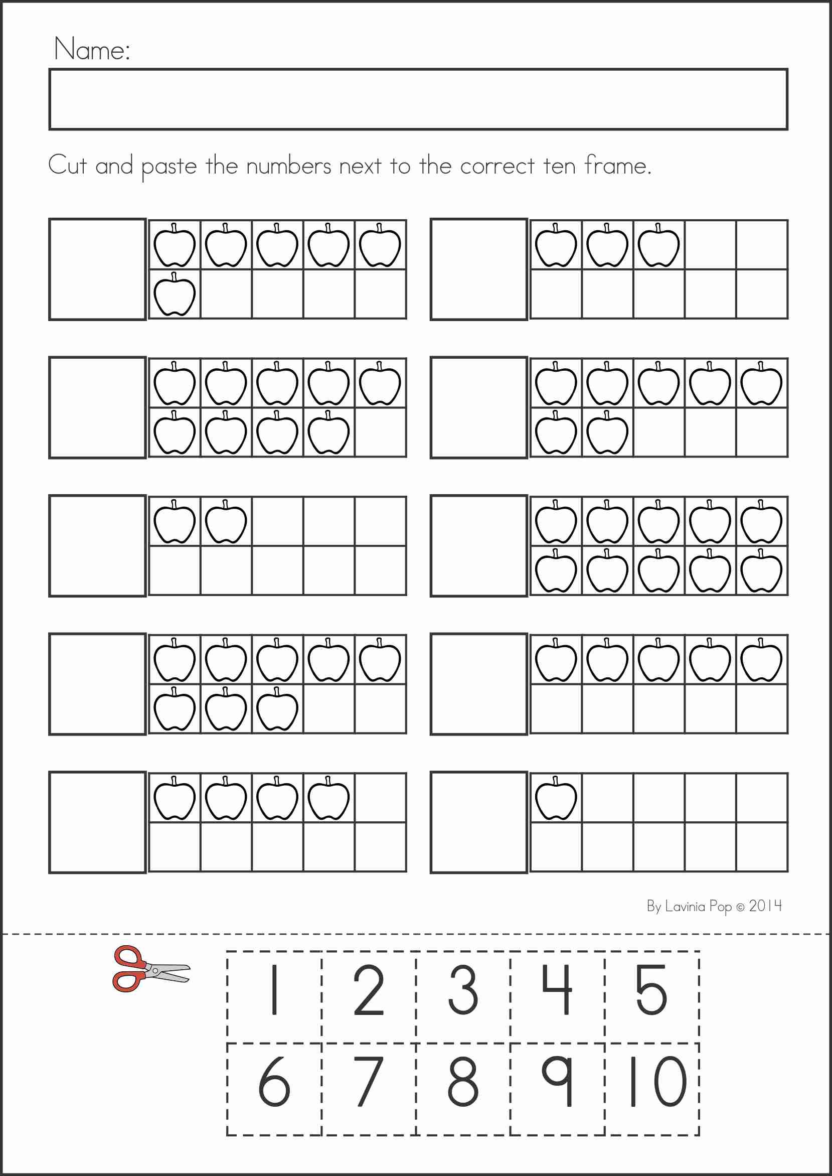 Worksheet Cut And Paste Math Worksheets Grass Fedjp