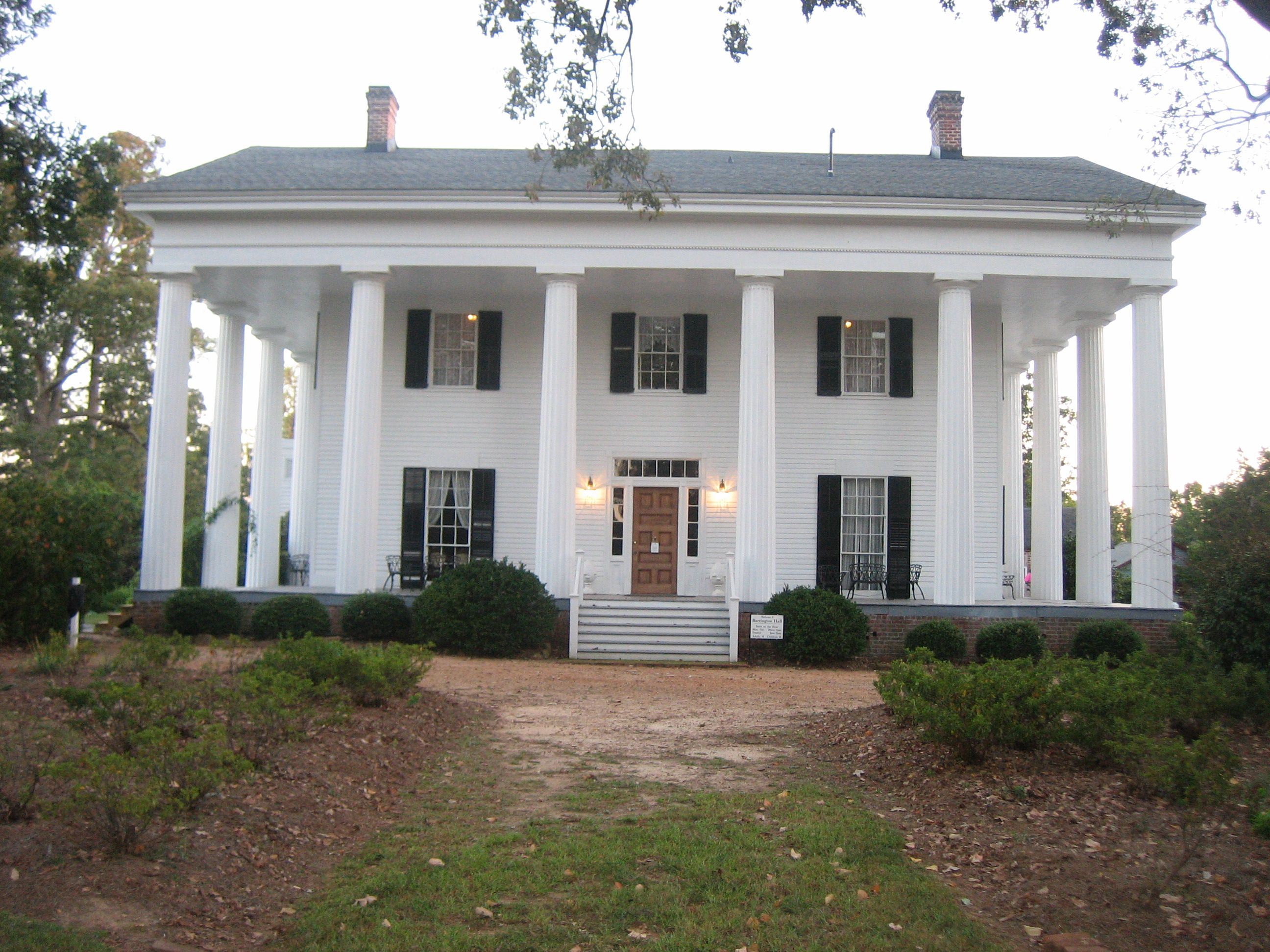 Barrington Hall, Roswell Favorite Places
