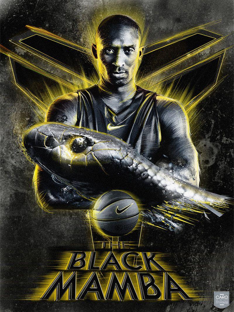 THE BLACK MAMBA KOBE BRYANT L.A. LAKERS. My Obsessions